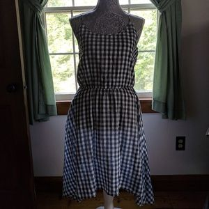 NWT Vince Camuto Gingham Sundress